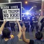 The Latest: Police say 4 arrested in connection with rally