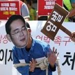 Samsung's heir apparent guilty of corruption, sentenced to five years in prison