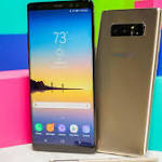 Shiny Galaxy Note 8 gets dual cameras, but plays it safe