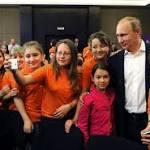 Vladimir Putin Talks Ruling the World, Future Wars And Life On Mars