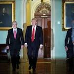 Trump arrives on Capitol Hill as Corker slams him for 'untruths,' 'debasing' the country