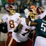 Redskins strike first, lead Eagles 3-0 after new kicker delivers