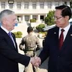 Mattis talks diplomacy on North Korea ahead of Trump's Asia tour