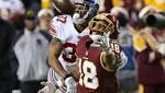 Redskins top Giants in Thanksgiving night slog
