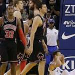Curry outscores Bulls in second quarter of easy Warriors win