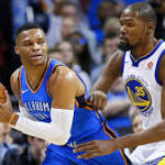 Going head-to-head, Russell Westbrook rules as KD's return a big loss