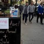 US job growth speeds up, unemployment rate falls; wages flat