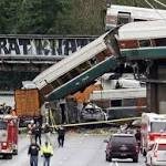 'Multiple' fatalities as Amtrak train derails, dangles over highway in Washington state