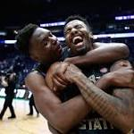 March Madness live: Florida St. upsets Xavier; UMBC falls to Kansas St.; Nevada stages epic rally