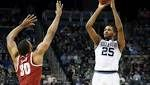 March Madness live: Mikal Bridges's second-half outburst leads Villanova past Alabama