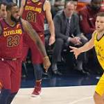 Cavs' role players step up to support LeBron and tie series with Pacers