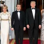 As state dinner hostess, Melania Trump finally seems at ease as first lady