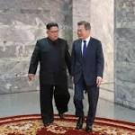 The Latest: Trump says Korea talks 'going along very well'