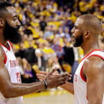 Will James Harden's Rockets beat the Warriors without Chris Paul?