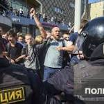 Russian police detain more than 1600 protesting Putin's 4th presidential term