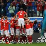 Russia Stay Perfect with 3-1 Win over Mohamed Salah, Egypt in 2018 World Cup