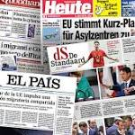 European press says migrant deal 'fragile'