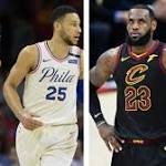 LeBron James 'thought long and hard' about playing with Sixers' Ben Simmons, Joel Embiid