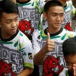 "Voices in the dark, then ""hello"": Trapped Thai boys recount the moment they were found"