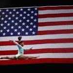 'I stand with all of them': Simone Biles wears a teal leotard to send a strong message about sexual abuse