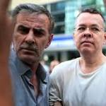 US sanctions Turkish officials over detained pastor