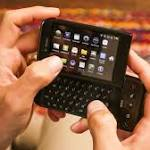 Android's first phone, the T-Mobile G1, almost looked like a BlackBerry